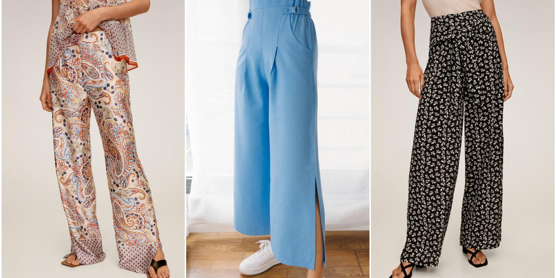 Shopping. 22 ideias de modelos de calças frescas que vão ser tendência este verão