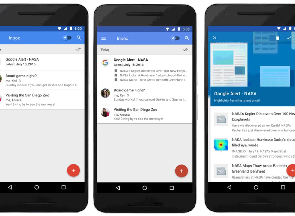 Google vai encerrar a Inbox by Gmail por falta de adesão dos utilizadores