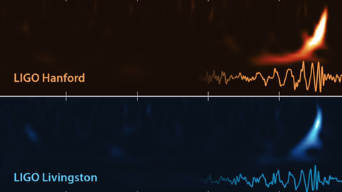 Ouça o som do Universo: o barulho da colisão entre dois buracos negros