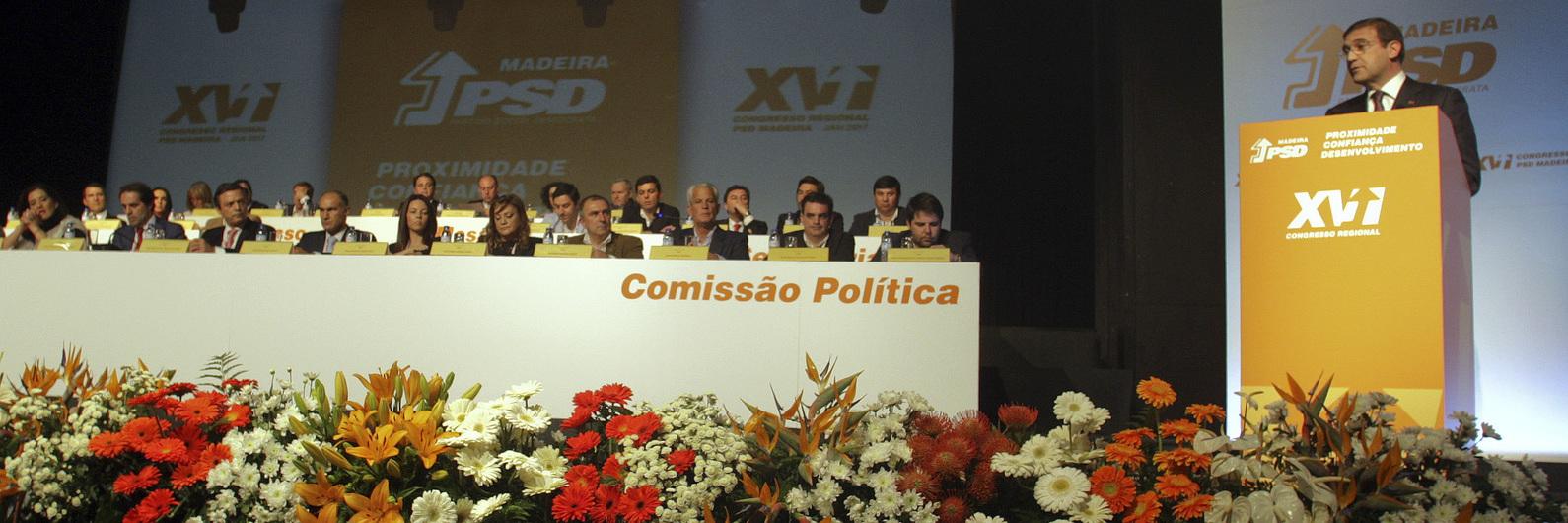 Passos Coelho manifesta-se contra políticas protecionistas e defende aposta na social-democracia