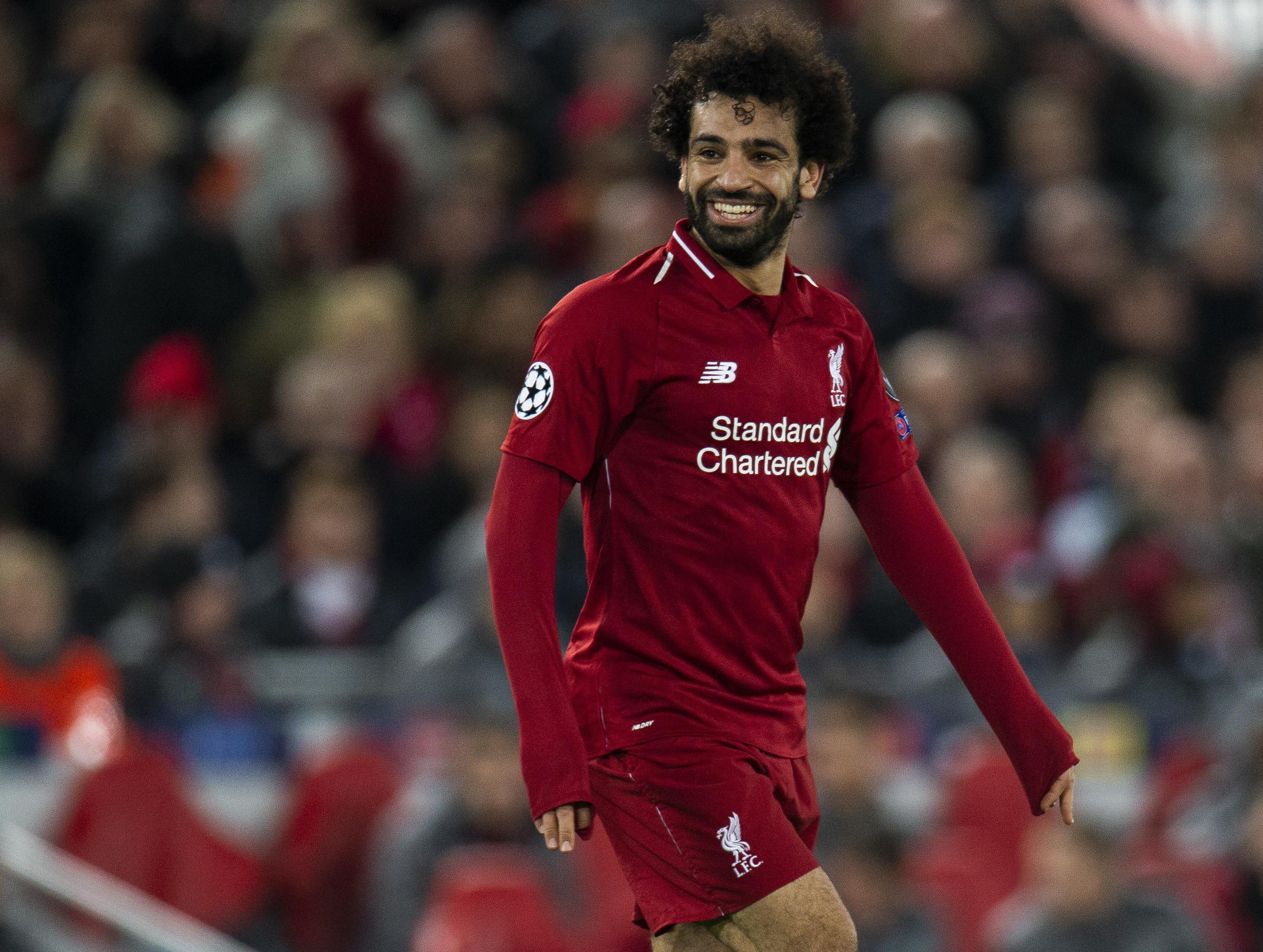 Egípcio Salah eleito jogador africano do ano pela BBC