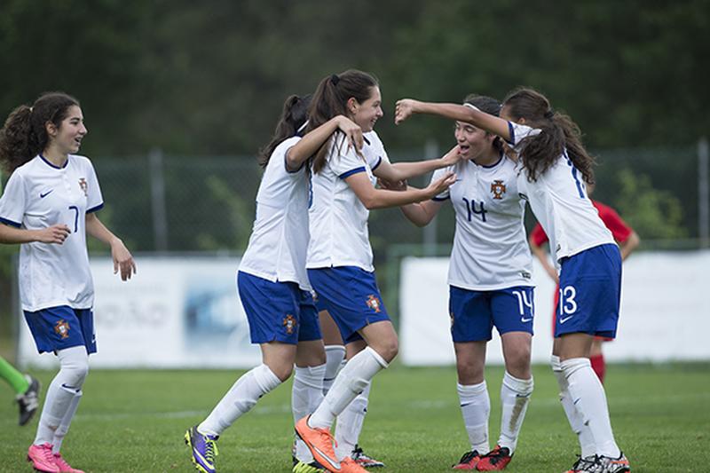 Seleção feminina de sub-16 vence Torneio de Desenvolvimento da UEFA