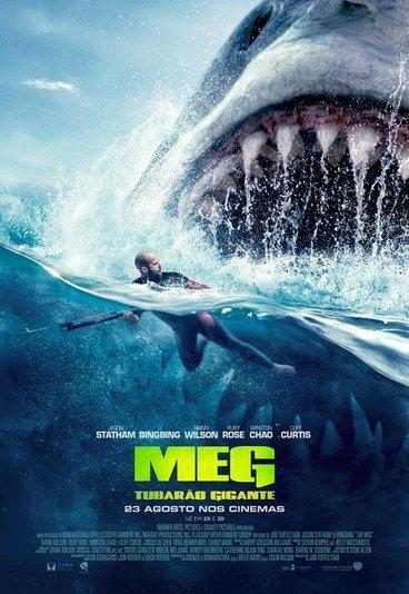 """""""Meg - Tubarão Gigante"""": ganhe convites para as antestreias"""