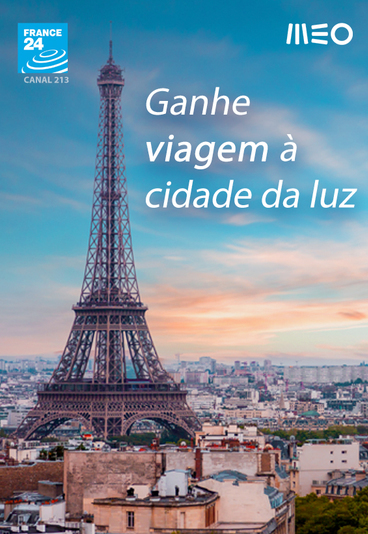 Ganhe uma viagem a Paris para duas pessoas
