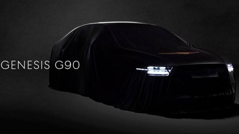 Revelado primeiro teaser do novo Genesis 90