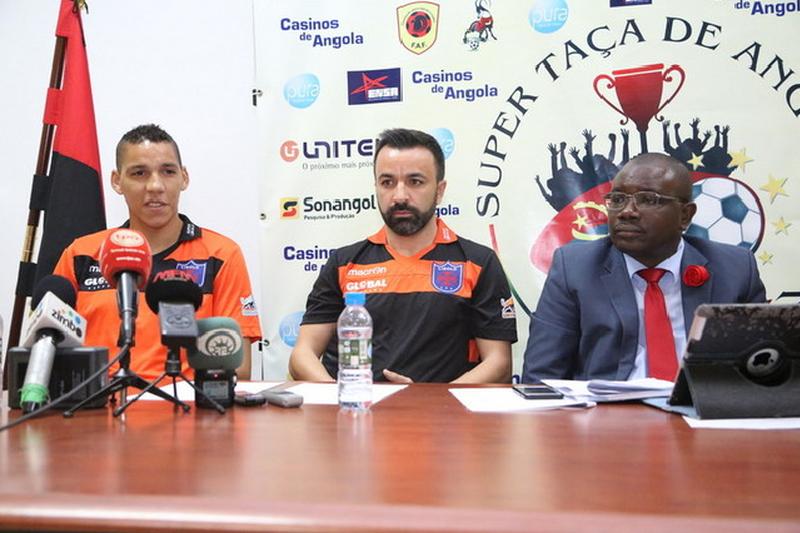 Técnico do Libolo lamenta empate frente ao Interclube