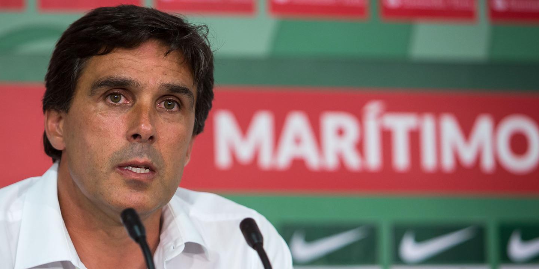 """Daniel Ramos: """"Terceiro lugar do Marítimo não é fruto do relvado mas sim do trabalho"""""""