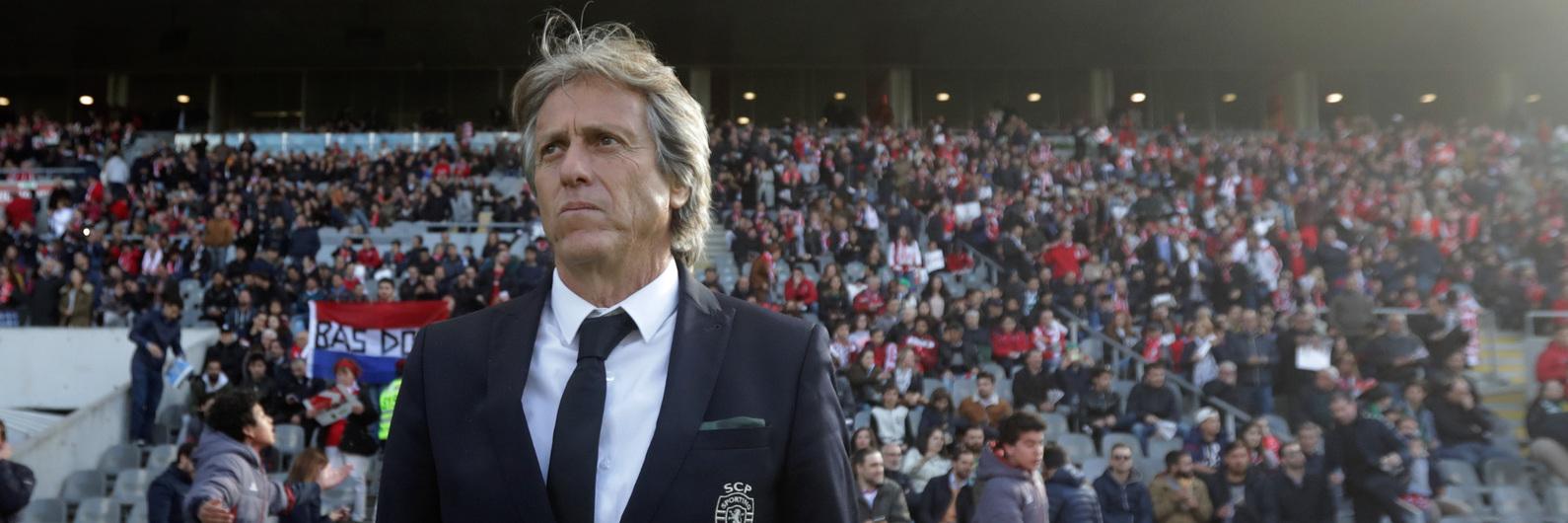 """Jorge Jesus: """"Era uma grande injustiça se o Sporting não saísse vencedor"""""""