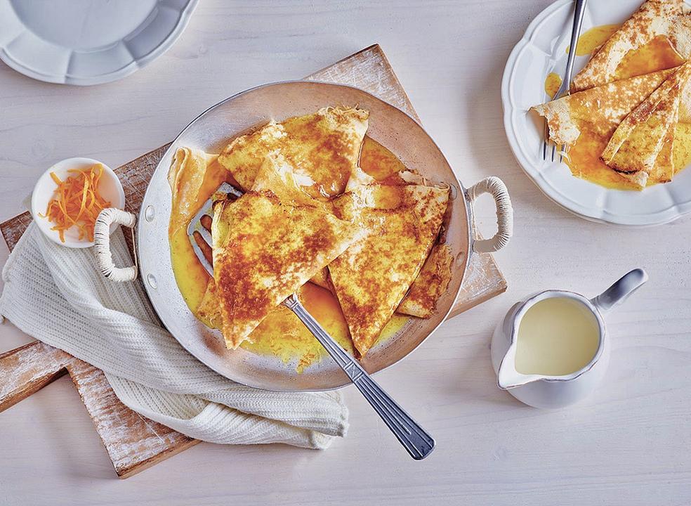 Crêpe Suzette: uma das mais famosas sobremesas francesas foi criada no Mónaco