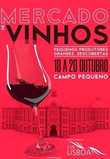 Ganhe bilhetes duplos para o Mercado de Vinhos em Lisboa