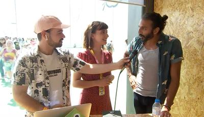 """À conversa com Avi Nash na Comic Con Portugal: o ator de """"Walking Dead"""" que aprendeu a falar português"""