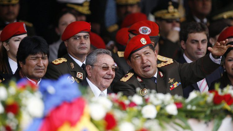 Raul Castro na Venezuela