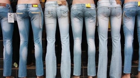 A mãe perfeita(mente desesperada). Skinny Jeans por todo o lado