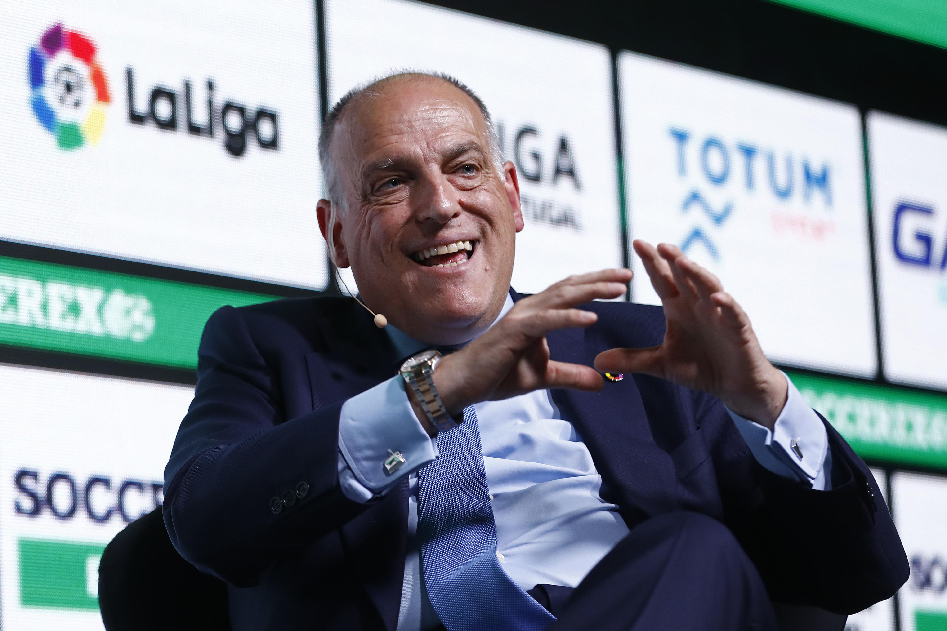 """COVID-19: Presidente da Liga espanhola lembra que ERTE é um """"mecanismo legal"""""""
