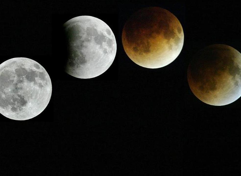 Não perca o eclipse total da Lua neste fim-de-semana