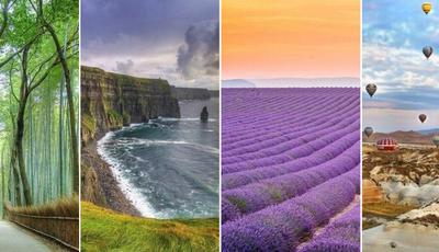 Estes são alguns dos lugares mais fascinantes do planeta Terra