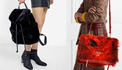 Faux Fur Bags: a tendência da próxima estação