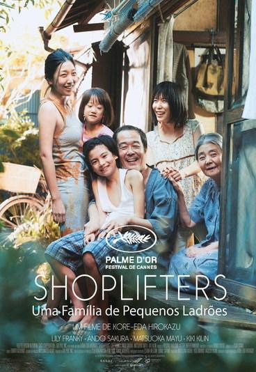 """""""Shoplifters: Uma Família de Pequenos Ladrões"""": ganhe convites para as antestreias exclusivas"""