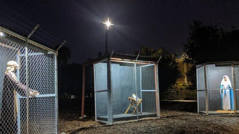 Igreja separa José, Maria e Jesus em protesto contra as políticas de imigração nos EUA