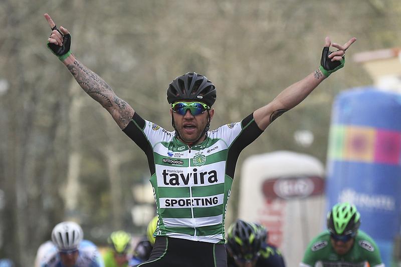 Sportinguista Nocentini 3.º nos Nacionais italianos de ciclismo