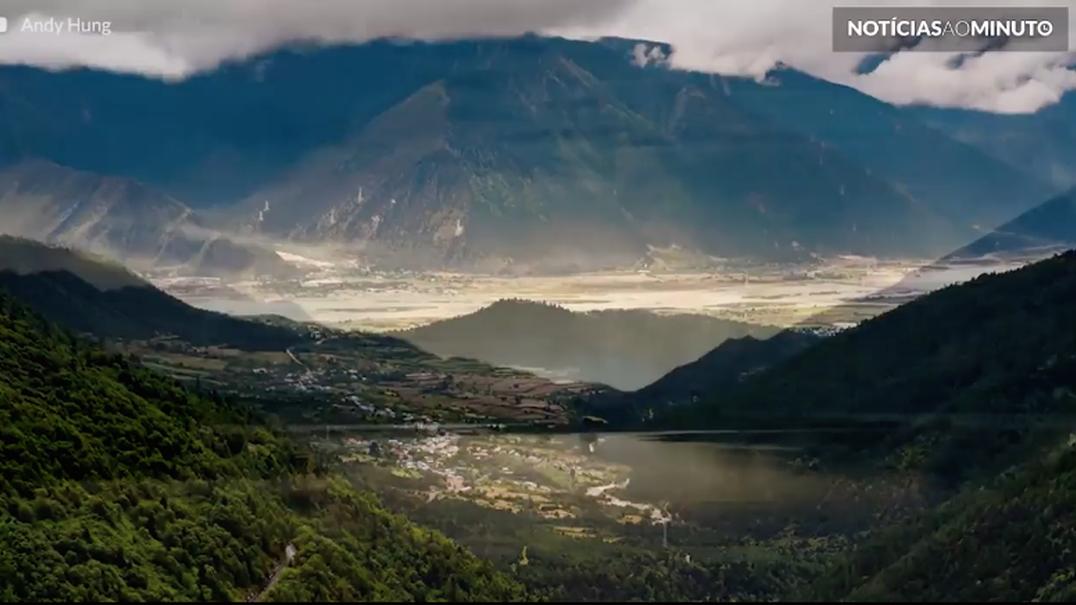 Tibete, um planalto da Ásia como nunca o viu em timelapse