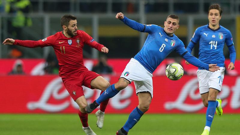 Portugal empata com Itália e assegura qualificação para a 'final four' da Liga das Nações