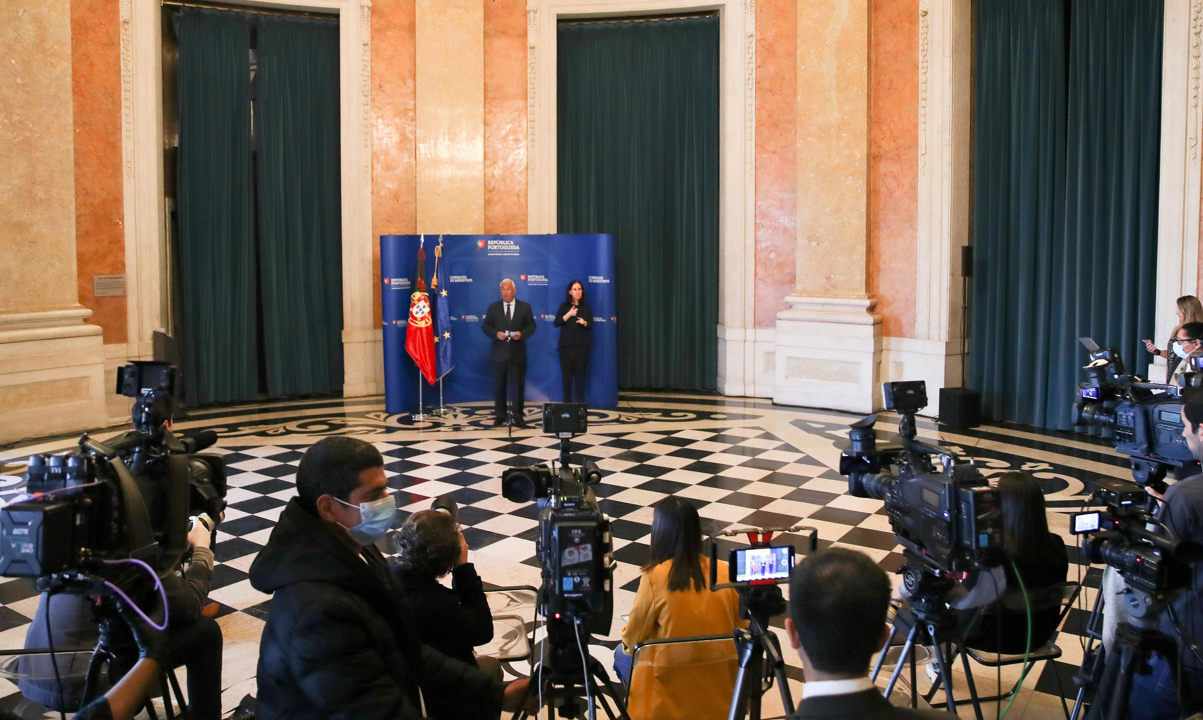 Resultado de imagem para Estado de Emergência avança com o parecer favorável do Conselho de Ministros