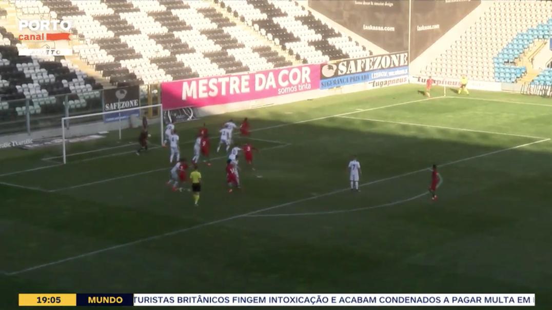 Seleção Nacional de Sub19 goleia o Kosovo por 5-0