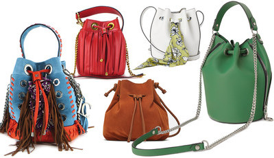 Bucket Bags: 23 malas onde cabe tudo
