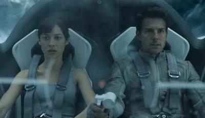 Já viu esta aventura futurista pós-apocalíptica com Tom Cruise?