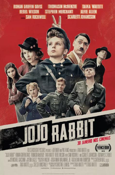 """""""Jojo Rabbit"""": ganhe convites para as antestreias"""