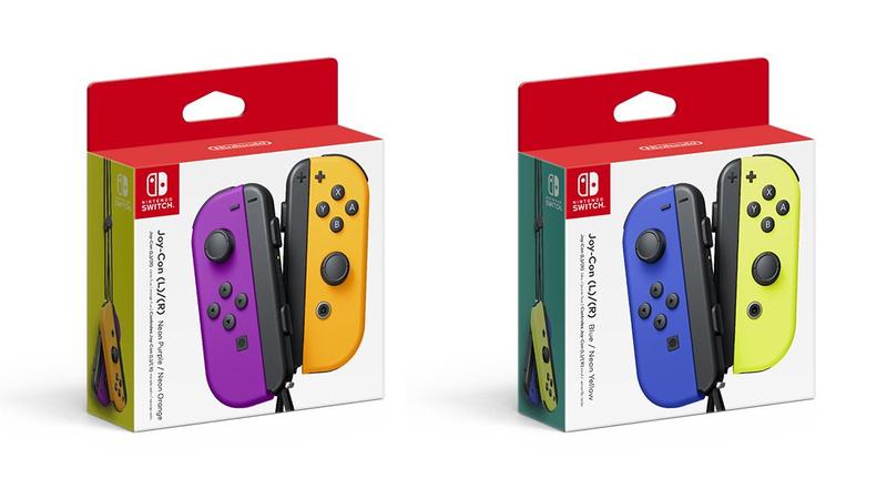 Nintendo tem mais novidades: conheça os novos Joy-Con da Switch