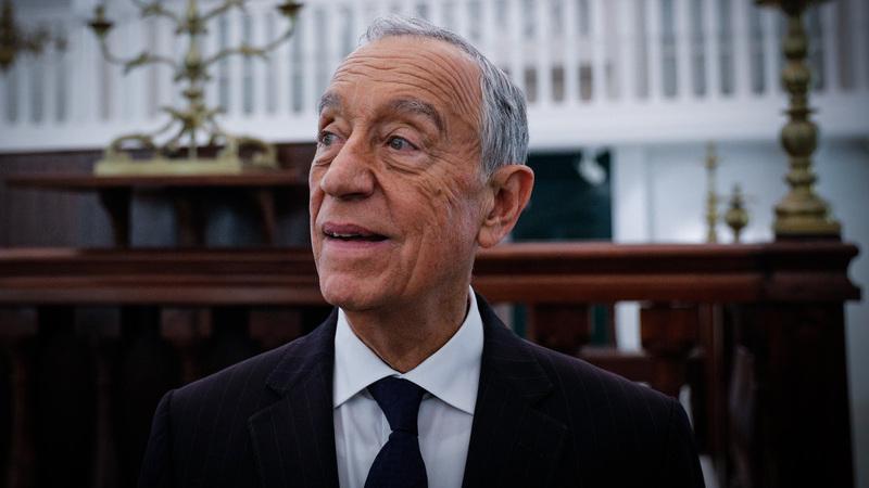 Marcelo recusa comentar em Israel possível candidatura presidencial de Ana Gomes