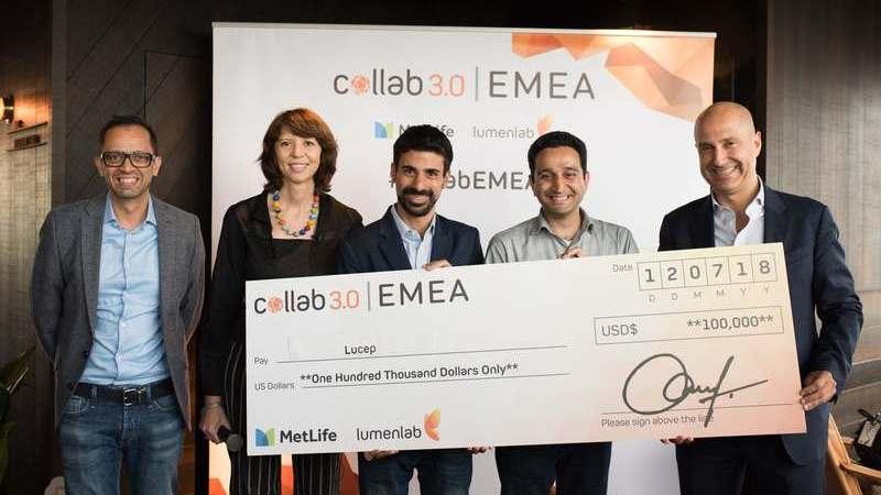 Lucep é a startup vencedora do Collab 3.0 EMEA