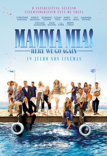 """""""Mamma Mia! Here We Go Again"""": ganhe convites para as antestreias"""