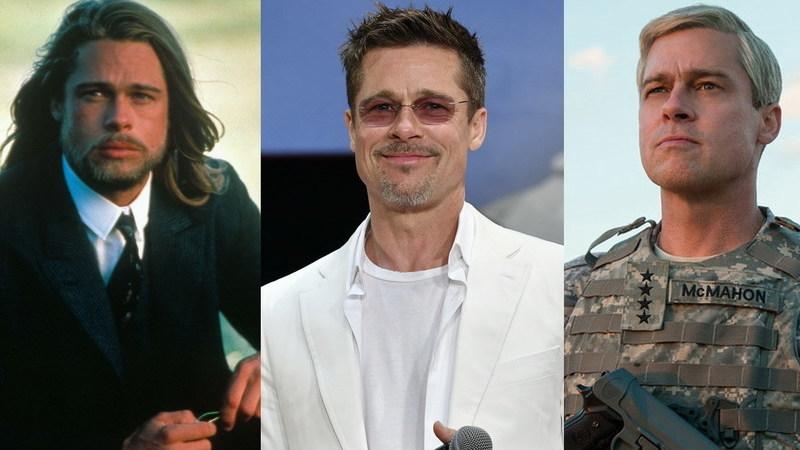 Brad Pitt faz 55 anos: as imagens da carreira no cinema