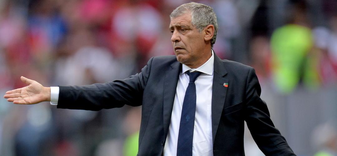 """Fernando Santos: """"Admito que é um resultado injusto. Marrocos teve mérito mas futebol é assim: quem marca ganha"""""""