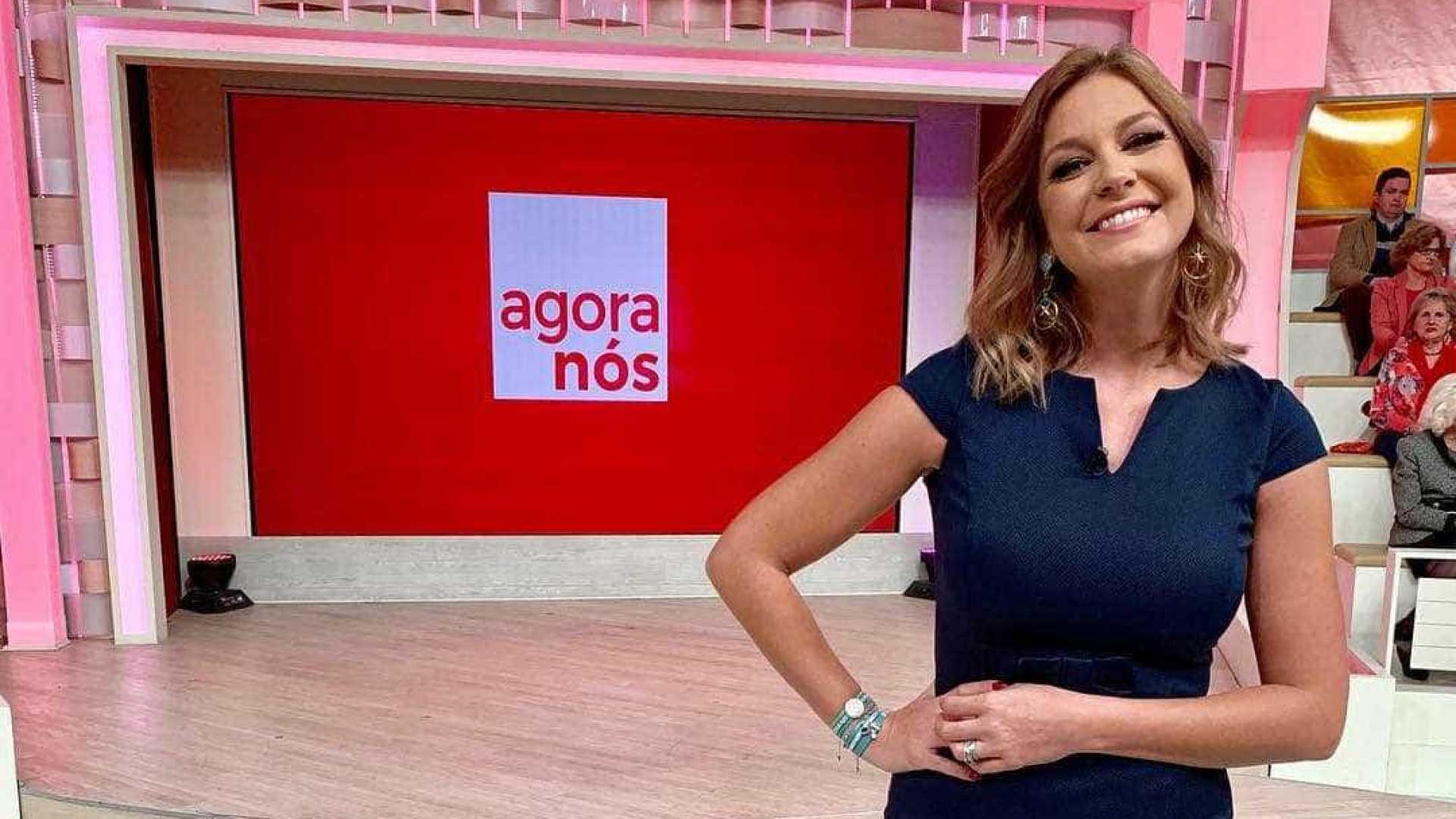 Vanessa Oliveira estreia-se como apresentadora do 'Agora Nós'