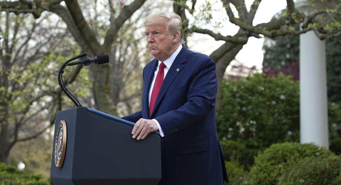EUA: Trump prevê que o pico do surto aconteça em duas semanas