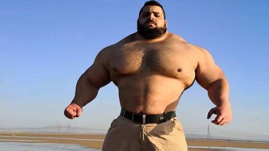 Já conhece o Hulk iraniano? Este vídeo mostra a sua evolução