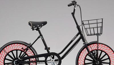 Bicicleta com pneus sem ar vai ser uma realidade!