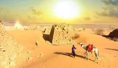 Este é o país com mais pirâmides do mundo e as mais bonitas. E não é o Egito