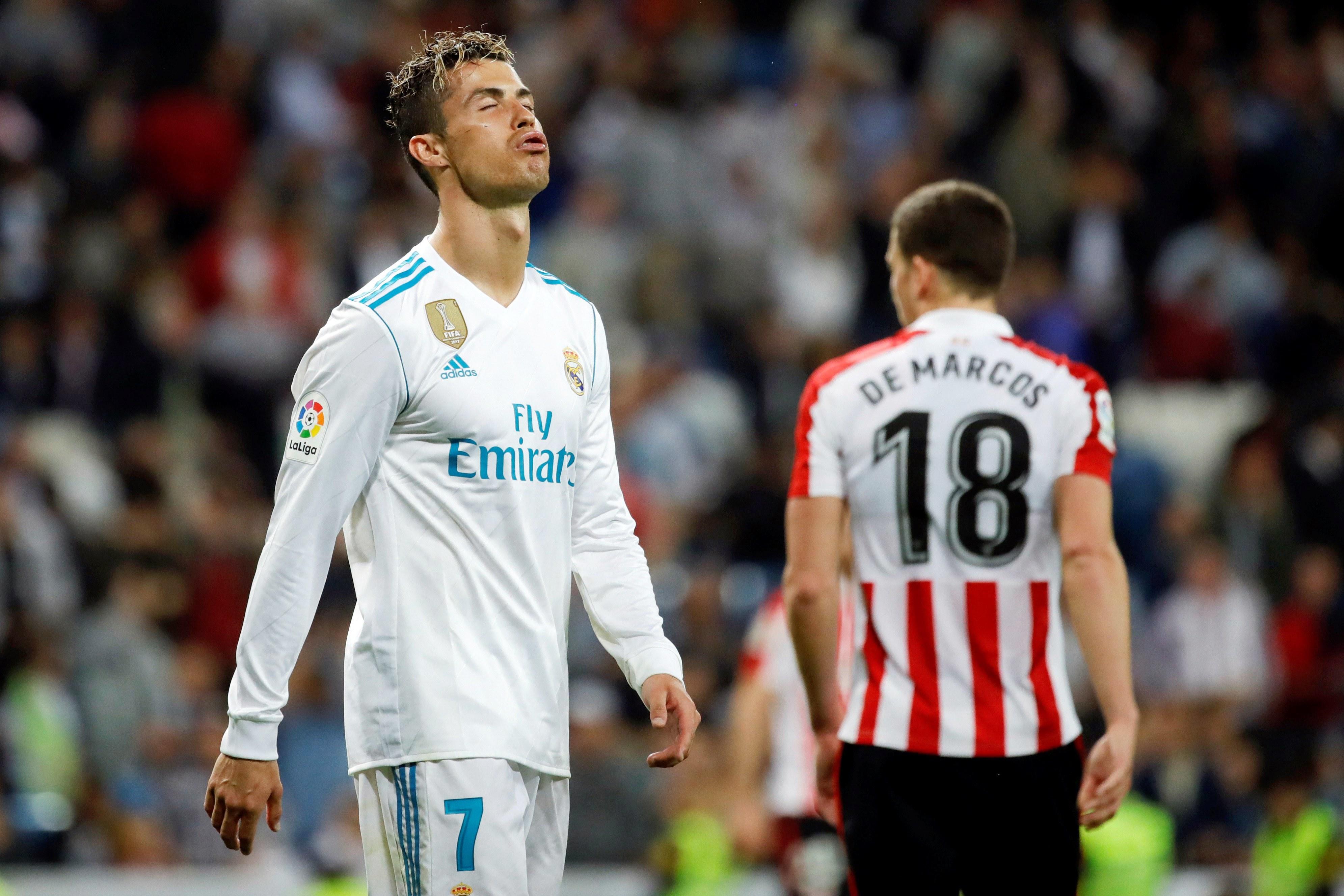 Ronaldo terá perdido a cabeça com juíza e a culpa foi de Messi