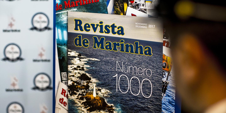 Revista da Marinha: mil edições e 80 anos a escrever sobre o Mar
