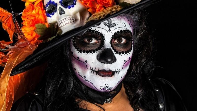 Depois de ver estes retratos, também vai querer pintar a cara como uma caveira mexicana