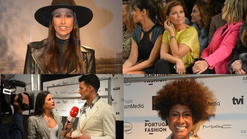 Caras conhecidas no segundo dia de Portugal Fashion no Porto