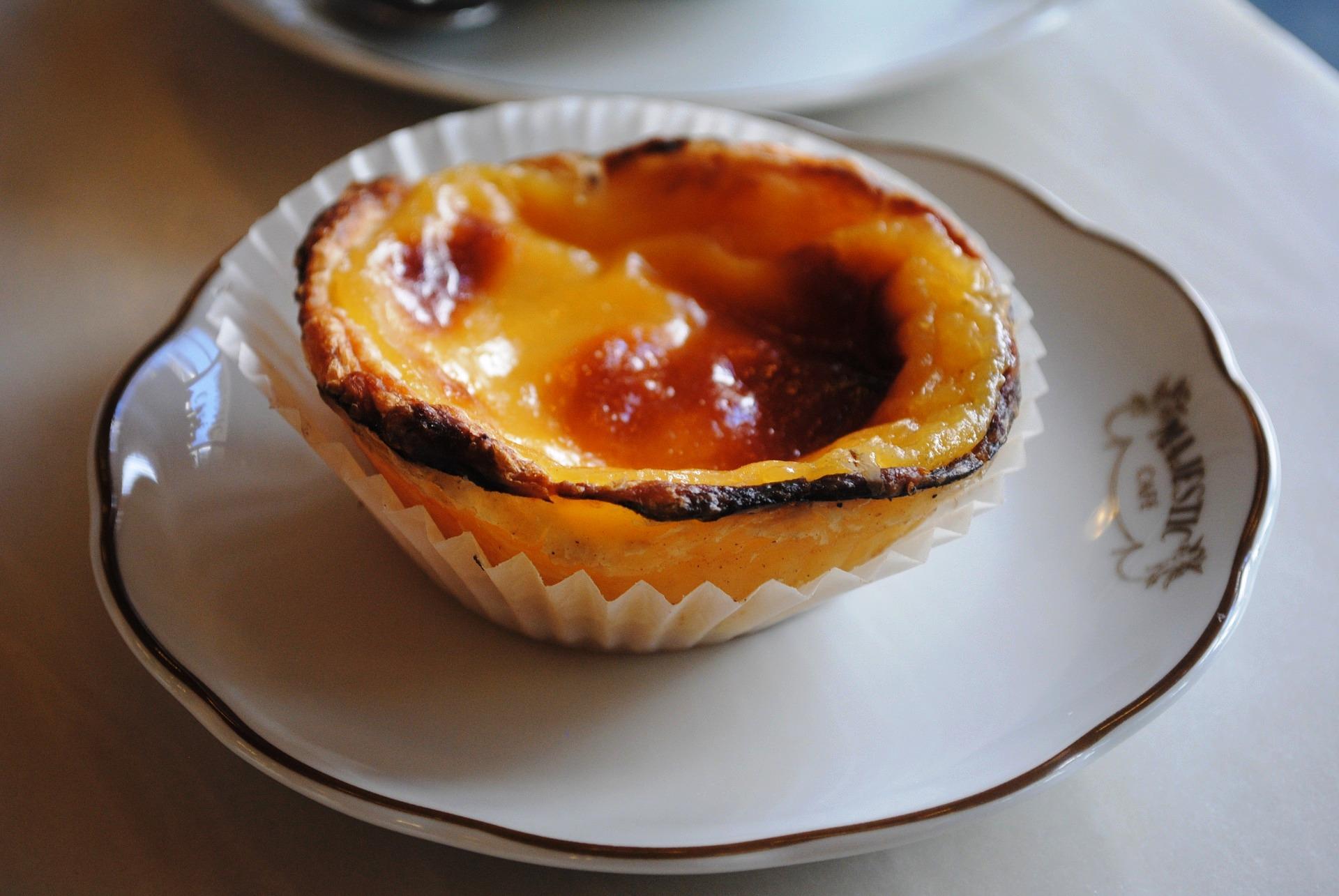 De que são feitos os bolos da pastelaria portuguesa?