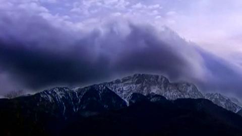 Time-lapse mostra formação de vento quente nas montanhas da Polónia