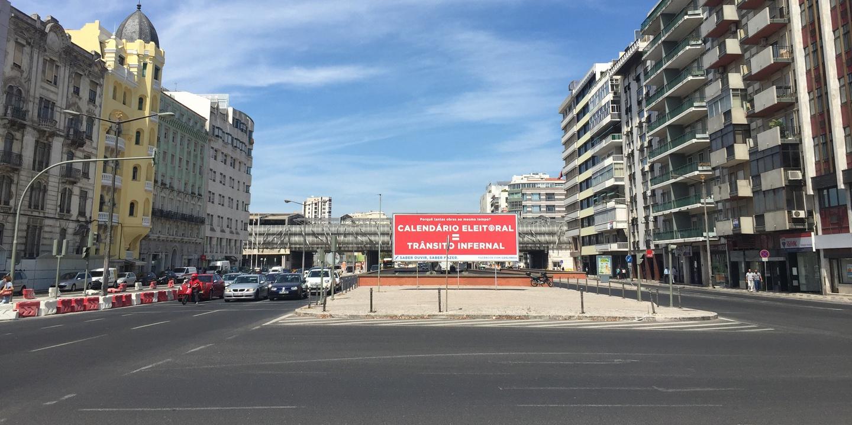 Lisboa: obras no Saldanha acabadas, Cais do Sodré concluído em Fevereiro. Mas nem todos estão felizes