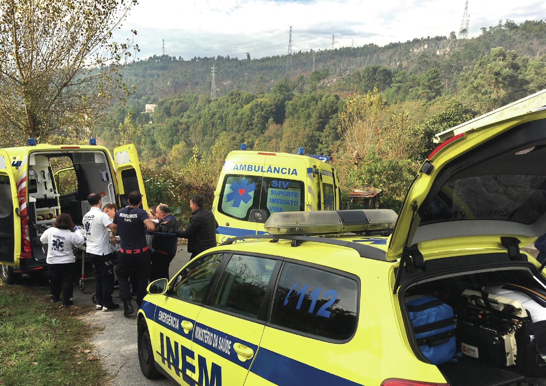 Reportagem: Um dia na viatura de emergência e reanimação